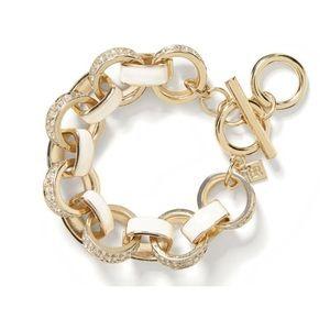 Banana Republic Pave Link Bracelet